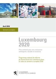 Programme national de réforme du Grand-Duché de Luxembourg 2018